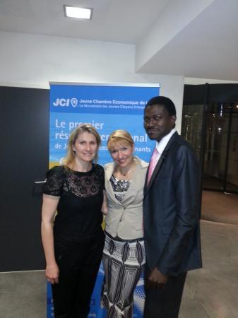 Visite Présidente JCI