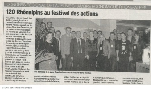 Article Le Dauphine Libere_27nov2013.jpg