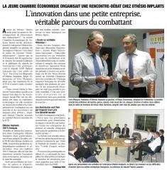 JCEV Parlementreprise - Article DL 14102011.jpg
