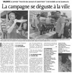 Article publié dans le Dauphiné Libéré le 11 juin 2012